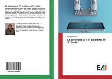 Bookcover of La soluzione al 18° problema di S. Smale