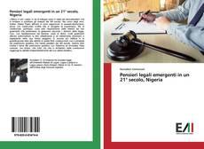 Bookcover of Pensieri legali emergenti in un 21° secolo, Nigeria