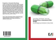 Prospettive e interazioni Erba-Droga kitap kapağı