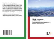Buchcover von Metodi per rilevare i cambiamenti