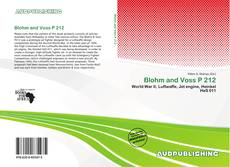 Bookcover of Blohm and Voss P 212