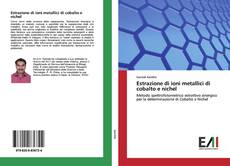 Copertina di Estrazione di ioni metallici di cobalto e nichel