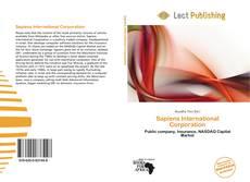 Sapiens International Corporation kitap kapağı