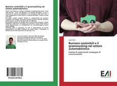 Capa do livro de Business sostenibili e il greenwashing nel settore automobilistico