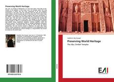 Couverture de Preserving World Heritage