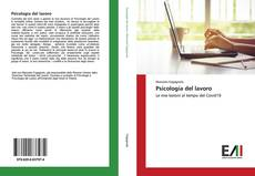 Buchcover von Psicologia del lavoro
