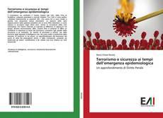 Buchcover von Terrorismo e sicurezza ai tempi dell'emergenza epidemiologica