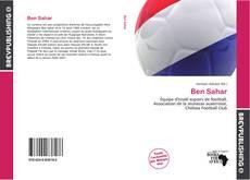Capa do livro de Ben Sahar