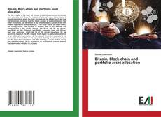 Capa do livro de Bitcoin, Block-chain and portfolio asset allocation