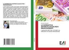 Bookcover of LA NORMATIVA ANTIRICICLAGGIO PER I PROFESSIONISTI