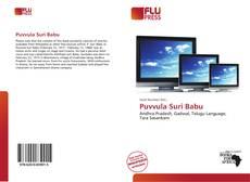 Bookcover of Puvvula Suri Babu
