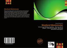 Bookcover of Westland Westminster