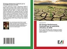 Portada del libro de Gli Energy Performance Contracts per la neutralità climatica al 2050