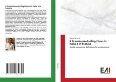 Buchcover von Il licenziamento illegittimo in Italia e in Francia