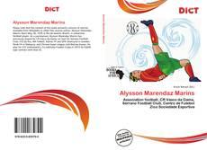 Обложка Alysson Marendaz Marins