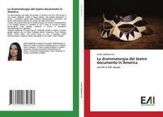 Buchcover von La drammaturgia del teatro documento in America
