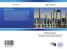 Bookcover of Philip of Opus