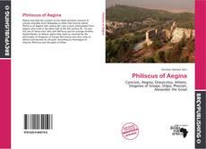 Bookcover of Philiscus of Aegina