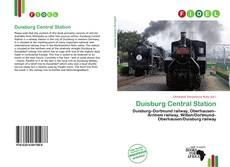Bookcover of Duisburg Central Station