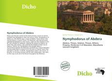 Bookcover of Nymphodorus of Abdera
