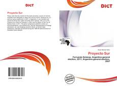 Bookcover of Proyecto Sur