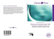 Bookcover of Syncron International AB