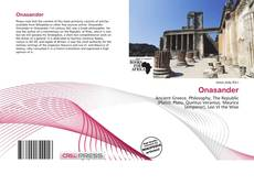 Bookcover of Onasander