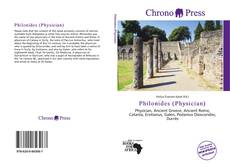 Capa do livro de Philonides (Physician)