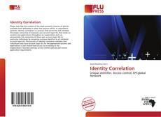 Bookcover of Identity Correlation