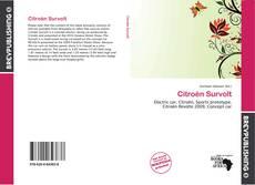 Citroën Survolt kitap kapağı