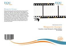Capa do livro de Marguerite Georges