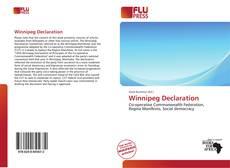 Bookcover of Winnipeg Declaration