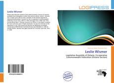 Bookcover of Leslie Wismer