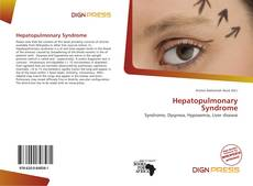 Bookcover of Hepatopulmonary Syndrome