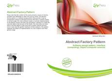 Bookcover of Abstract Factory Pattern