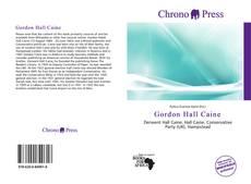 Copertina di Gordon Hall Caine