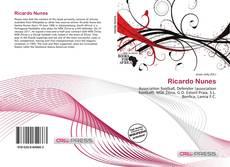 Capa do livro de Ricardo Nunes
