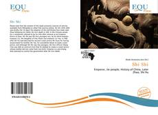Shi Shi kitap kapağı