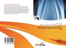 Couverture de Jean-François Bertrand