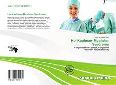 Bookcover of Ho–Kaufman–Mcalister Syndrome