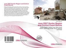 Couverture de June 2007 Hunter Region and Central Coast Storms