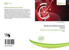 Reduced Dimensions Form的封面