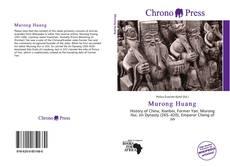 Murong Huang kitap kapağı