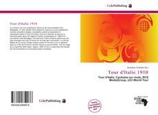 Capa do livro de Tour d'Italie 1910