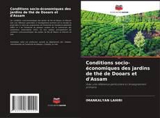 Обложка Conditions socio-économiques des jardins de thé de Dooars et d'Assam