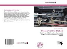 Bookcover of Dessau Central Station
