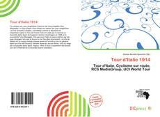 Capa do livro de Tour d'Italie 1914