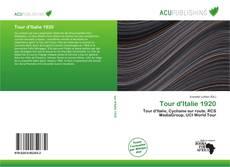 Capa do livro de Tour d'Italie 1920