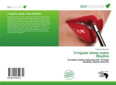 Irregular sleep–wake Rhythm kitap kapağı