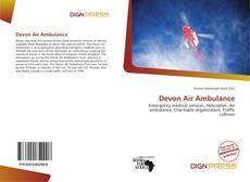 Capa do livro de Devon Air Ambulance